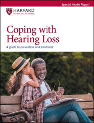 cover of publication: Coping with Hearing Loss